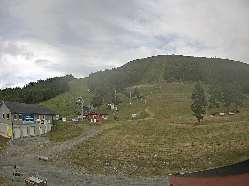 Volda - ski slope; bottom